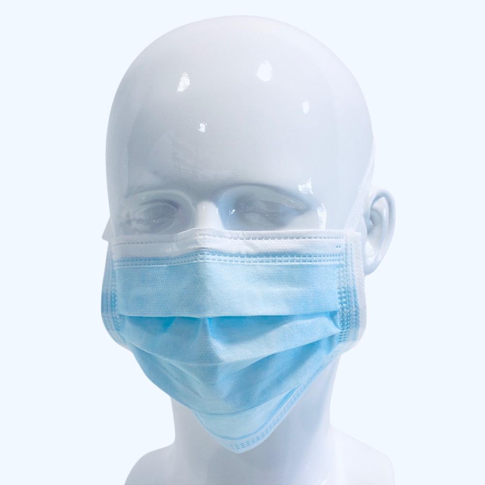 Websi-Face Mask Tie zum Binden Blau