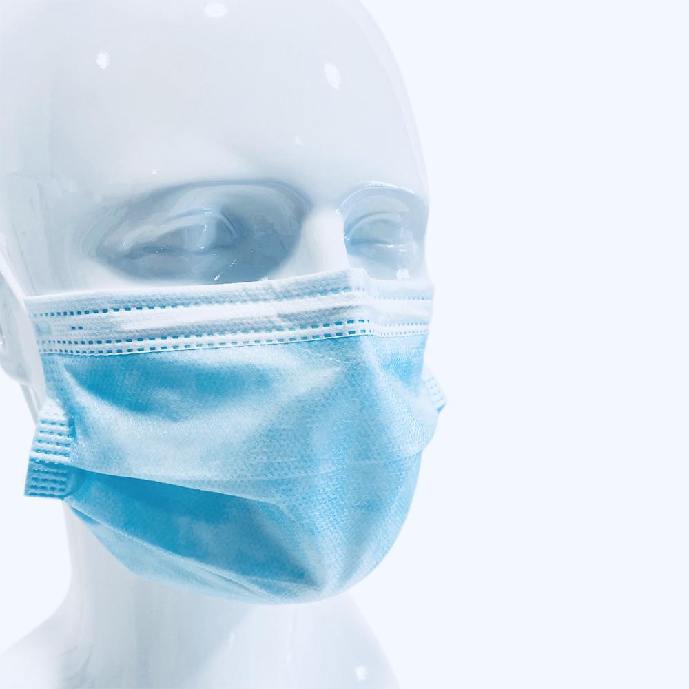 Websi-Face Mask Loop - Blau - Typ IIR - 50 Stück - lose in Box